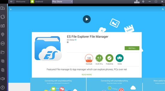 es file explorer download for pc