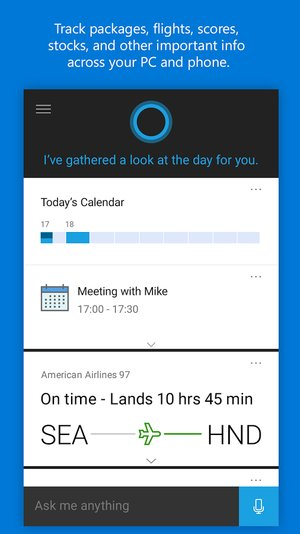cortana 1.8.0.1066 apk for android