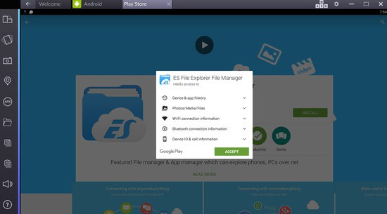 es file explorer for windows pc