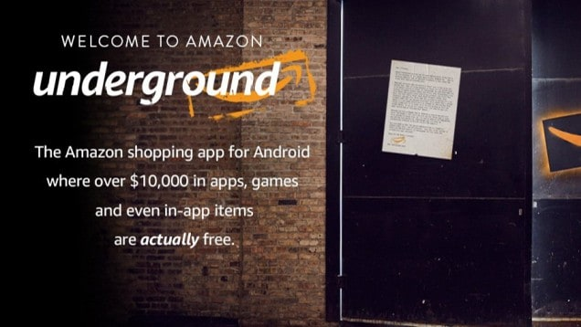amazon underground apk for android