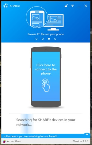 shareit official app on pc