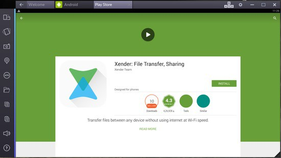 xender for pc computer download
