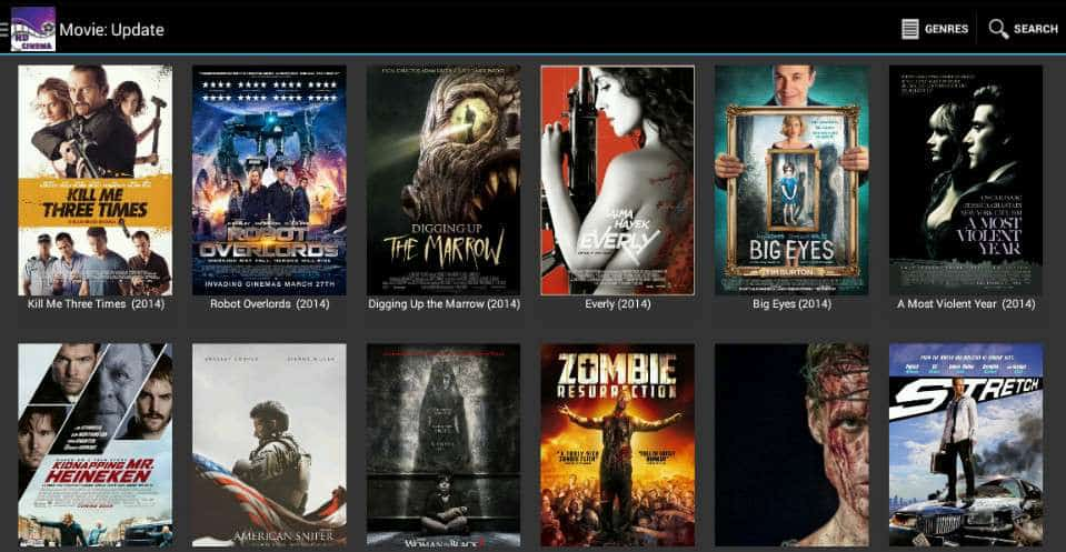 Cinema HD APK - Free Movies and TV Shows App For Android
