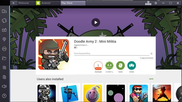 mini militia for pc computer download