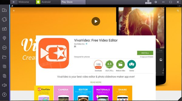 viva video for pc online bluestacks