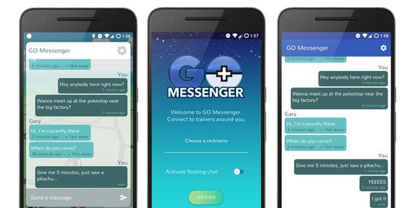 messenger for pokemon go 2.1.4 apk for android